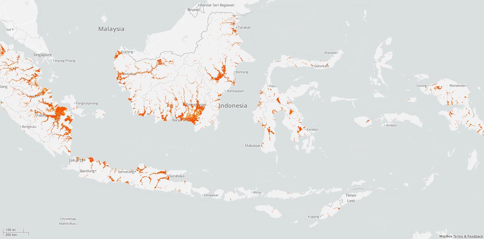 ID flood map
