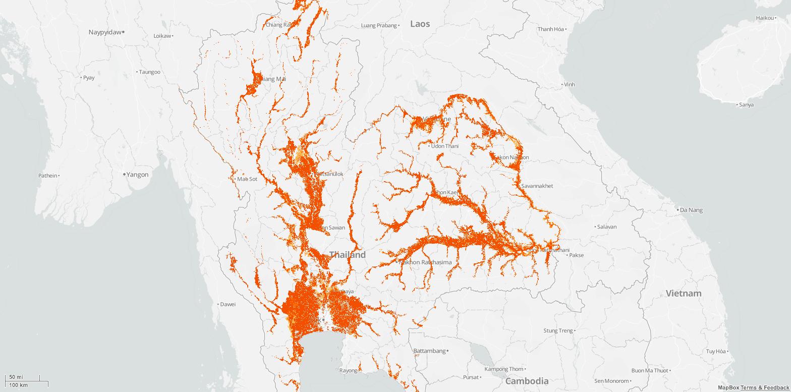 TH Flood Map